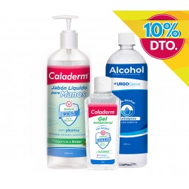 Pack Covid (Gel + Jabón + Alcohol) (-10%)